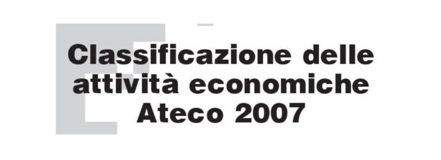 Il punto degli ISF sul codice ATECO per operare con Partita Iva