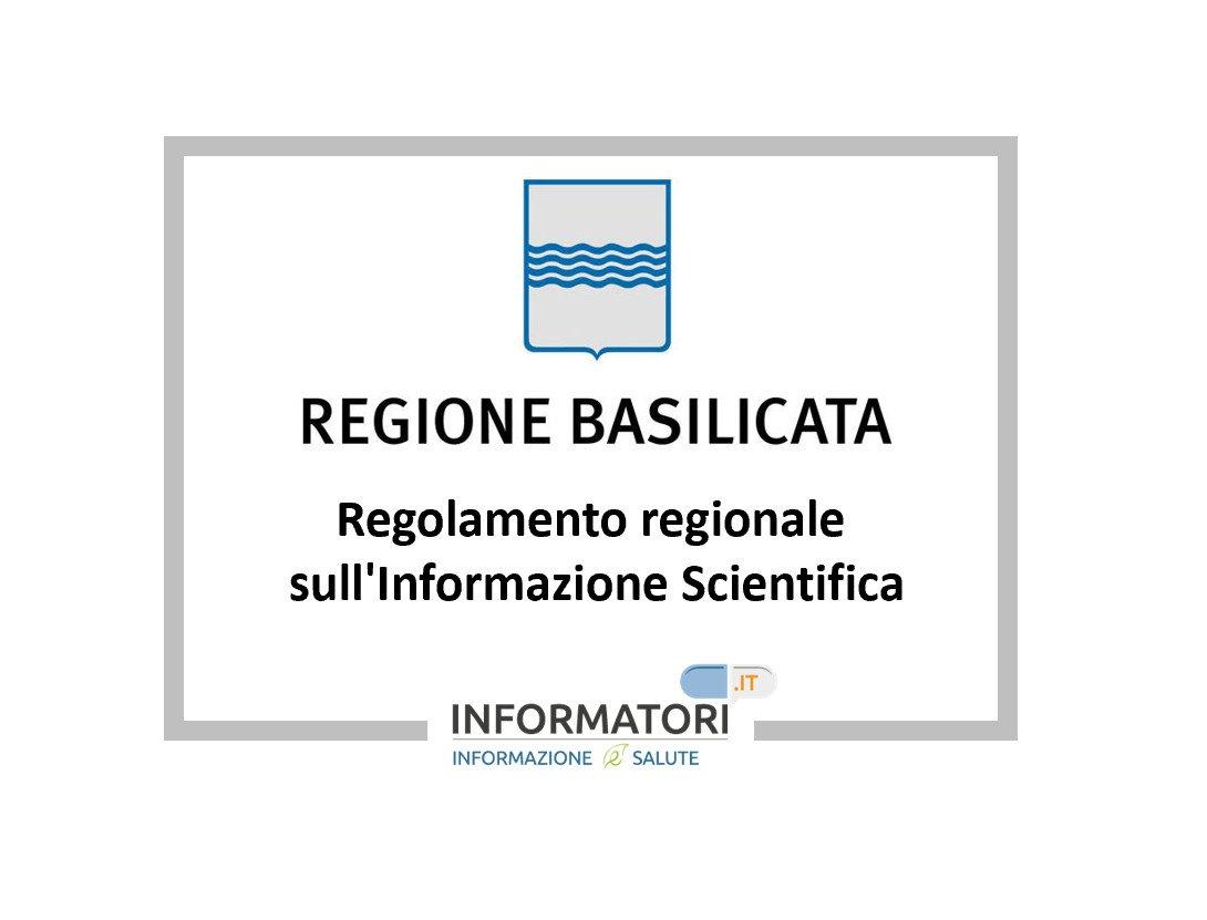 regolamento regionale Basilicata 2