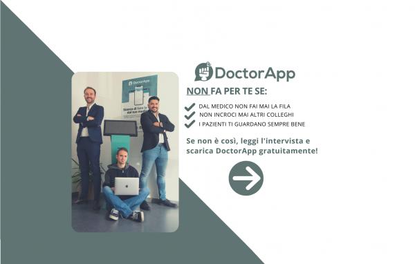 Più di un'app: una community. Doctorapp è la risposta alla comunicazione efficace tra medici e informatori.
